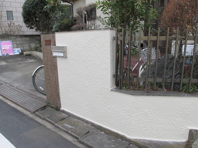 塗装 ブロック 塀