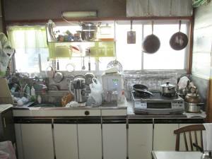 キッチン施工前正面