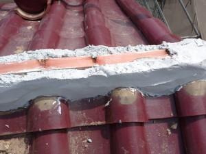 入間 屋根 瓦 棟 積み替え 漆喰