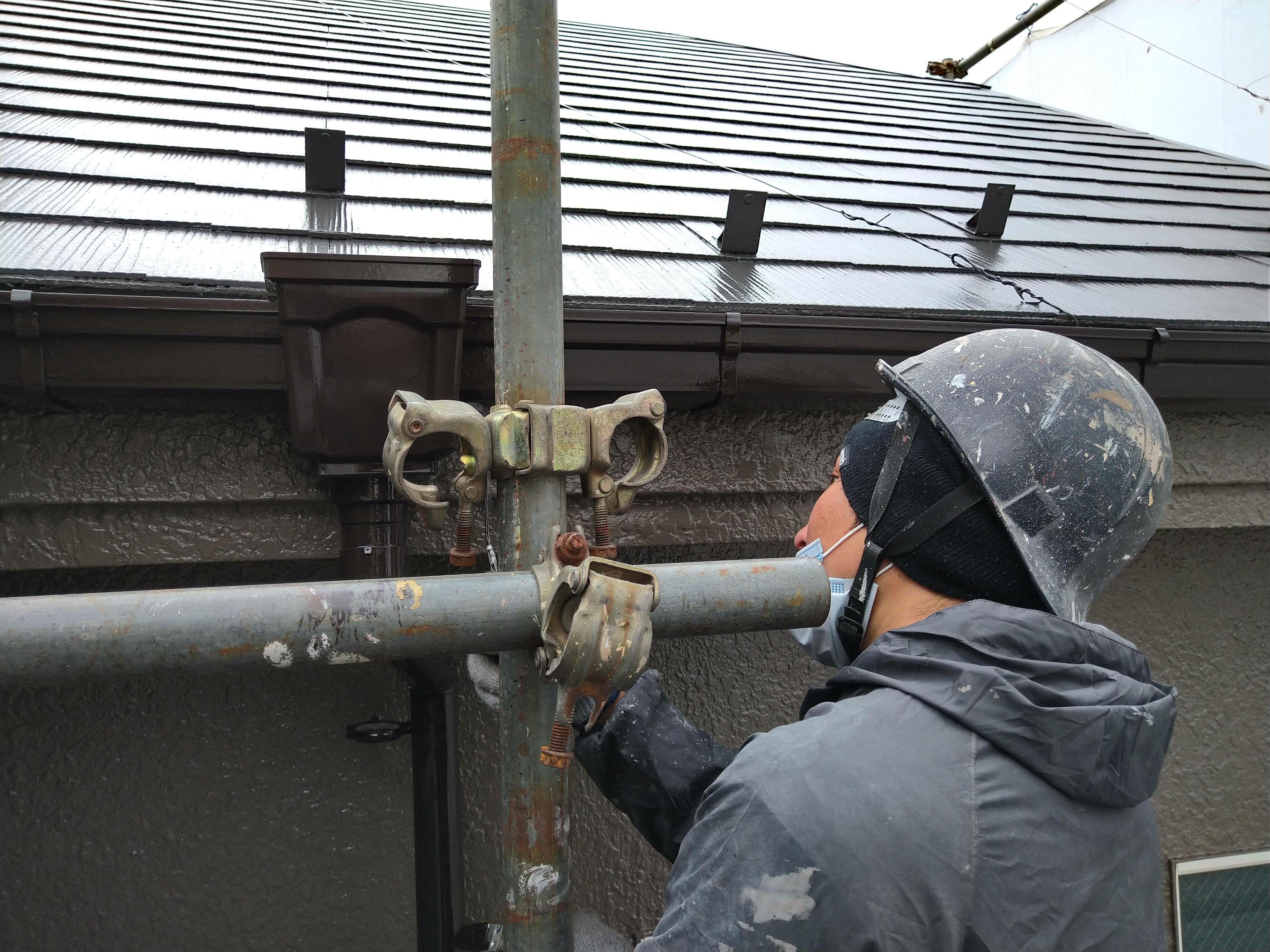 瑞穂町屋根外壁塗装工事